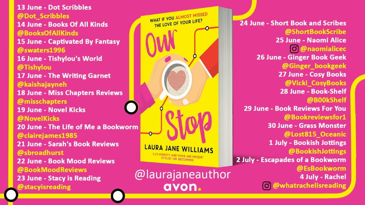 Our Stop blog tour