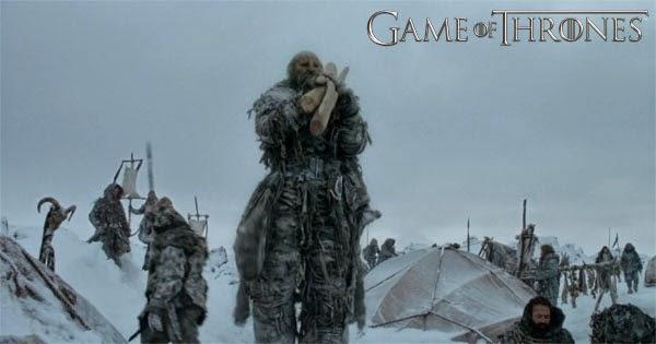 Las fuerzas de Mance Rayder incluyen gigantes que atacarán el castillo negro