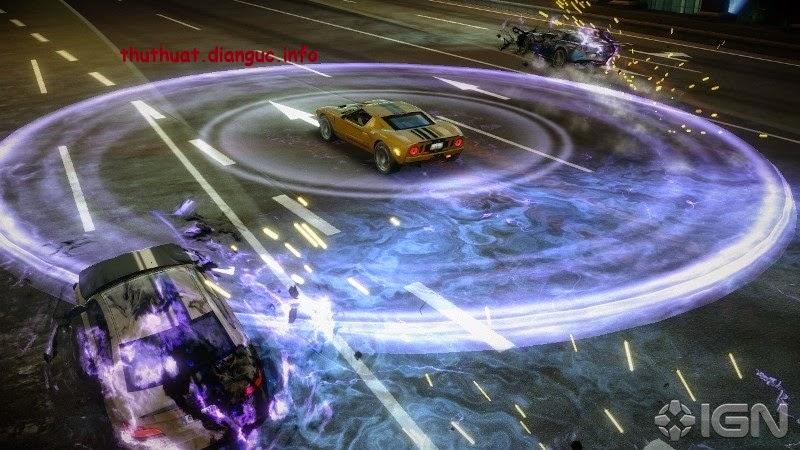 Download game đua xe hành động Blur PC offline