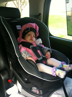 Month Old Outgrown Car Seat