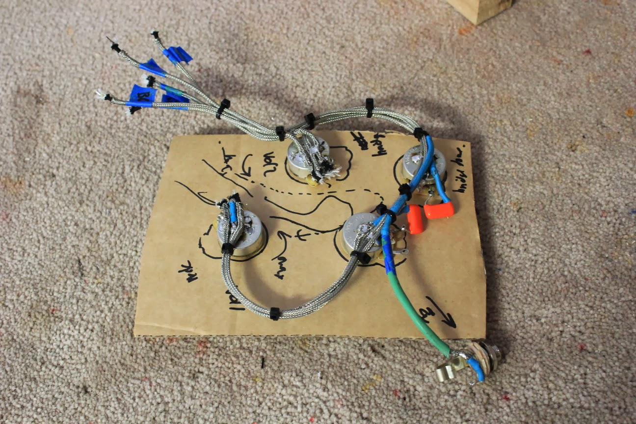 guitar kit builder les paul florentine vintage 50s wiring harness rh guitarkitbuilder blogspot com Vintage Les Paul Wiring Diagram Early Les Paul Wiring
