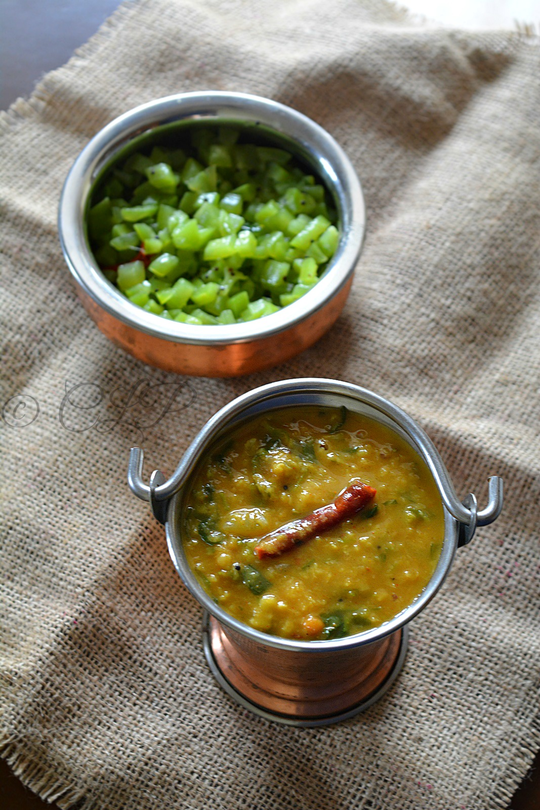Cook like PriyaMethi Leaves Sambar Vendhaya Keerai Sambar
