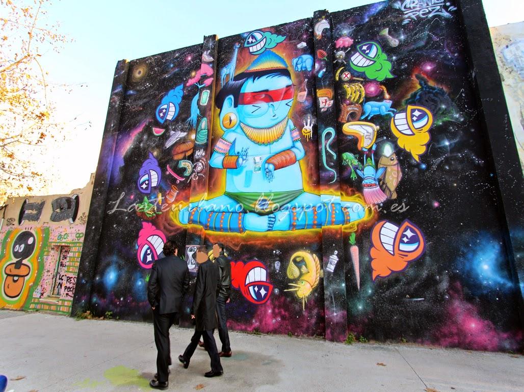 Graffiti wall barcelona - Graffiti Wall Barcelona 12