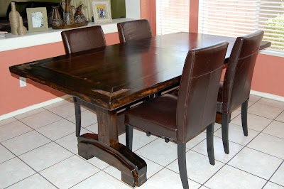 Furniture fix restaining furniture Restaining kitchen table