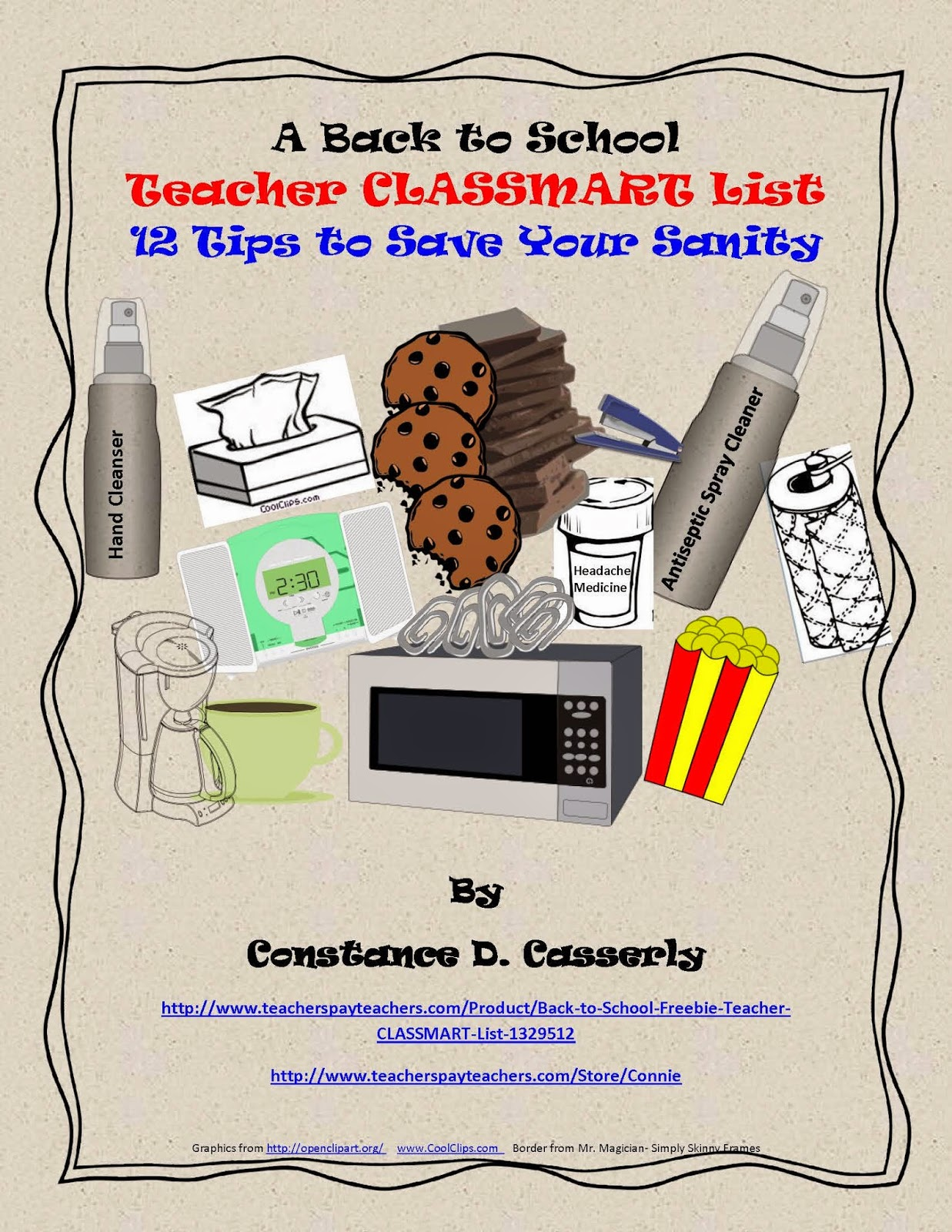 Teacher Back-To-School List