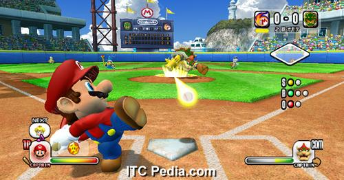 Mario Superstar Baseball wii