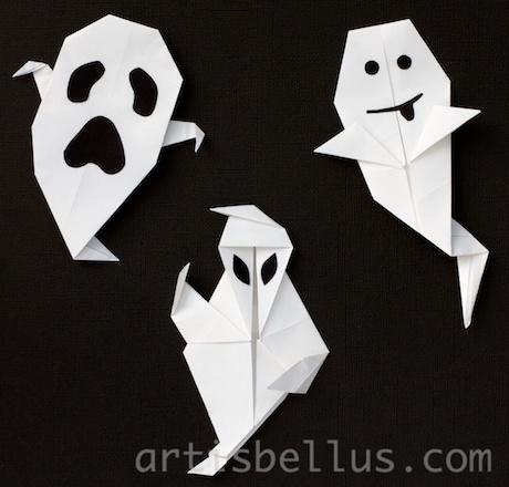 Halloween Decorations Three Ghosts