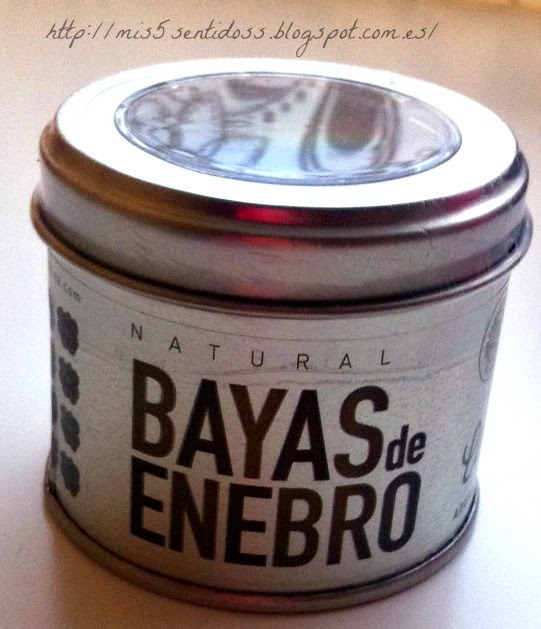 Degustabox Bayas de Enebro Cocktelea