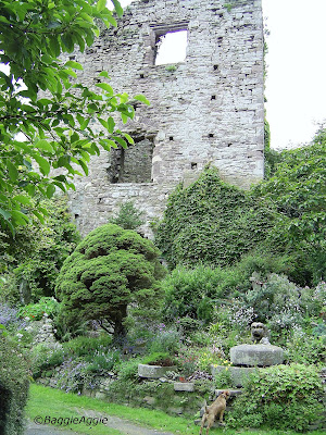 The Great Keep, c.1170, Usk Castle, Usk, Monmouthshire,South Wales.