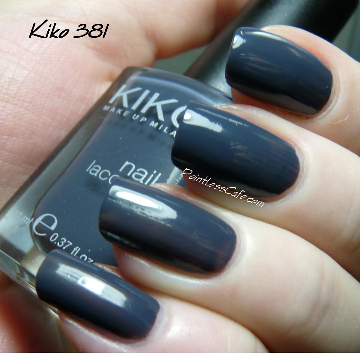 Nail Of The Day: Kiko 381 Purple Grey