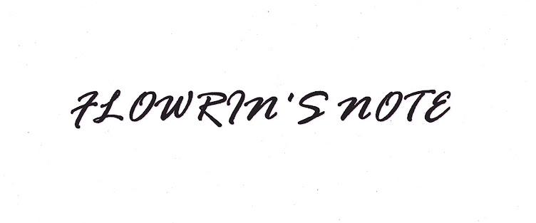 Flowrin's Note