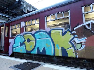 COMK graffiti