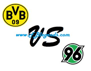مشاهدة مباراة بوروسيا دورتموند وهانوفر بث مباشر اليوم 12-9-2015 اون لاين الدوري الالماني يوتيوب لايف hannover 96 vs bv borussia dortmund