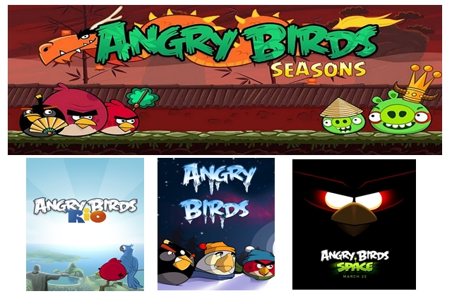 Angry Birds Collection PC Full 4 en 1 Descargar Repack