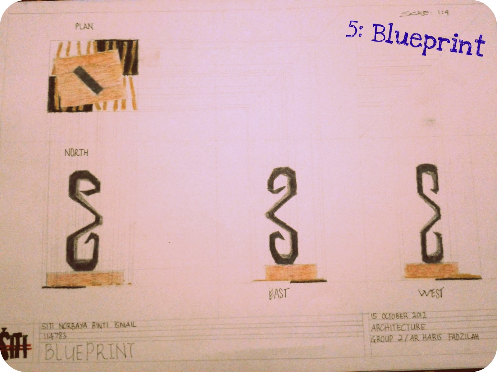 Learning By Doing Project 5 Blueprint Issued By Ar