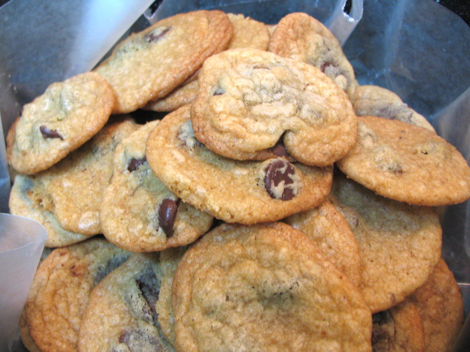 MENU LICIOUS: Crispy, Chewy, Freezer, Snacking Chocolate Chip Cookies