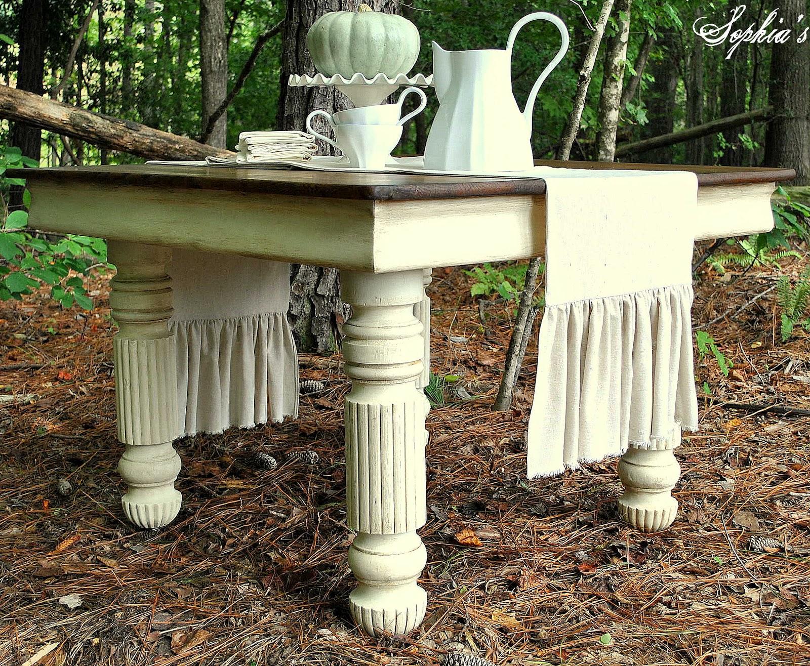 Oak Table Transformation