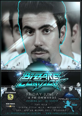 Bizzare Contact Live in BlueFrog