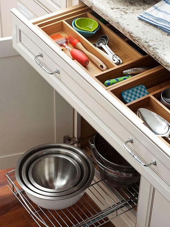 Modern furniture 2014 smart storage solutions for small for Smart kitchen design