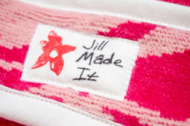 Jill Made It Clothing Tag