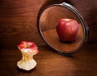 Eres como esa manzana