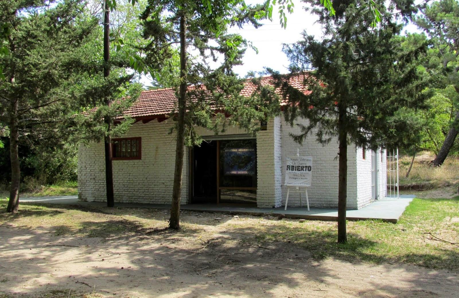 """Museo y Archivo Histórico Municipal del Veterano de Guerra de Malvinas """"Livio Cossiani""""."""