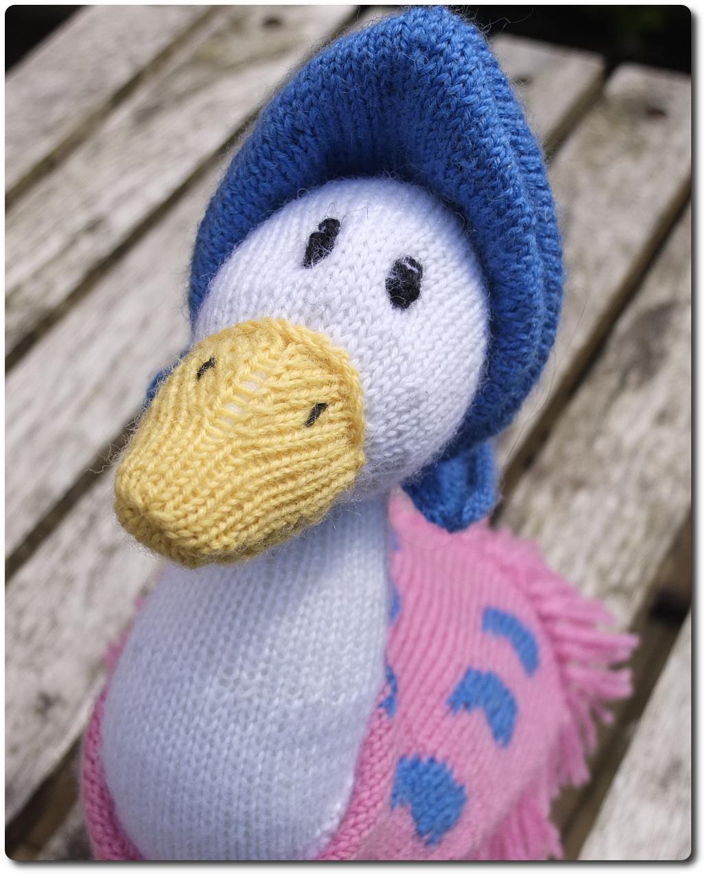 Knitty Nerd: Jemima Puddle-Duck
