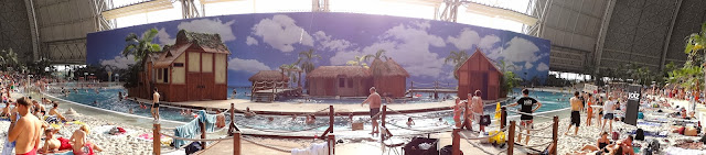 German indoor waterpark resort