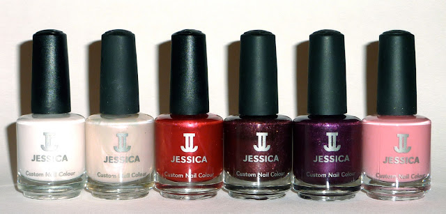 Jessica - Porceline Princess, Chic, Rainbow Red, Bette, Jet Set, Independent Iris