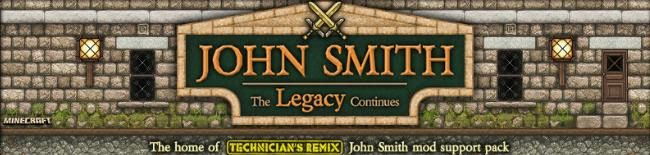 Resource Pack John Smith Legacy