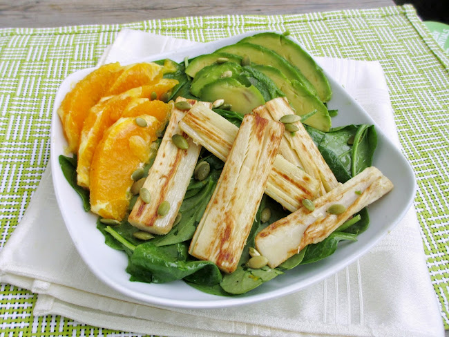 Vanilla & Spice: Hearts of Palm, Orange & Avocado Salad