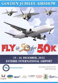 Entebbe Golden Jubilee Airshow