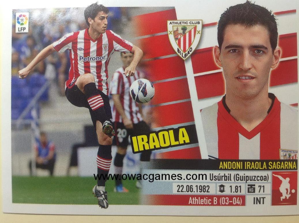 Liga ESTE 2013-14 Ath. Bilbao - 3 - Iraola