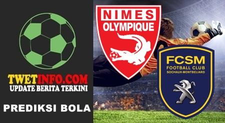 Prediksi Nimes Olympique vs FC Sochaux