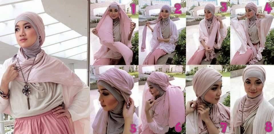 cara-jilbab-pashmina
