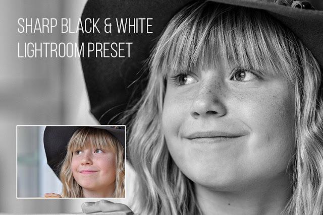 Sharp Black & White Lightroom Preset
