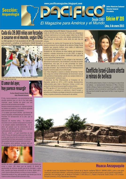 Revista Pacífico Nº 205 Arqueología