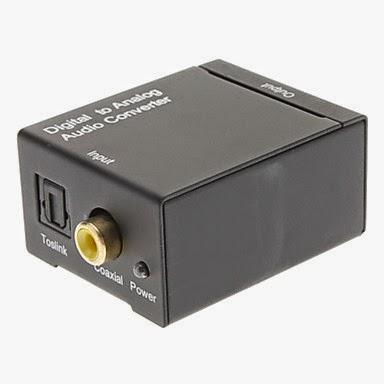 Convertidor de digital a analógico RCA