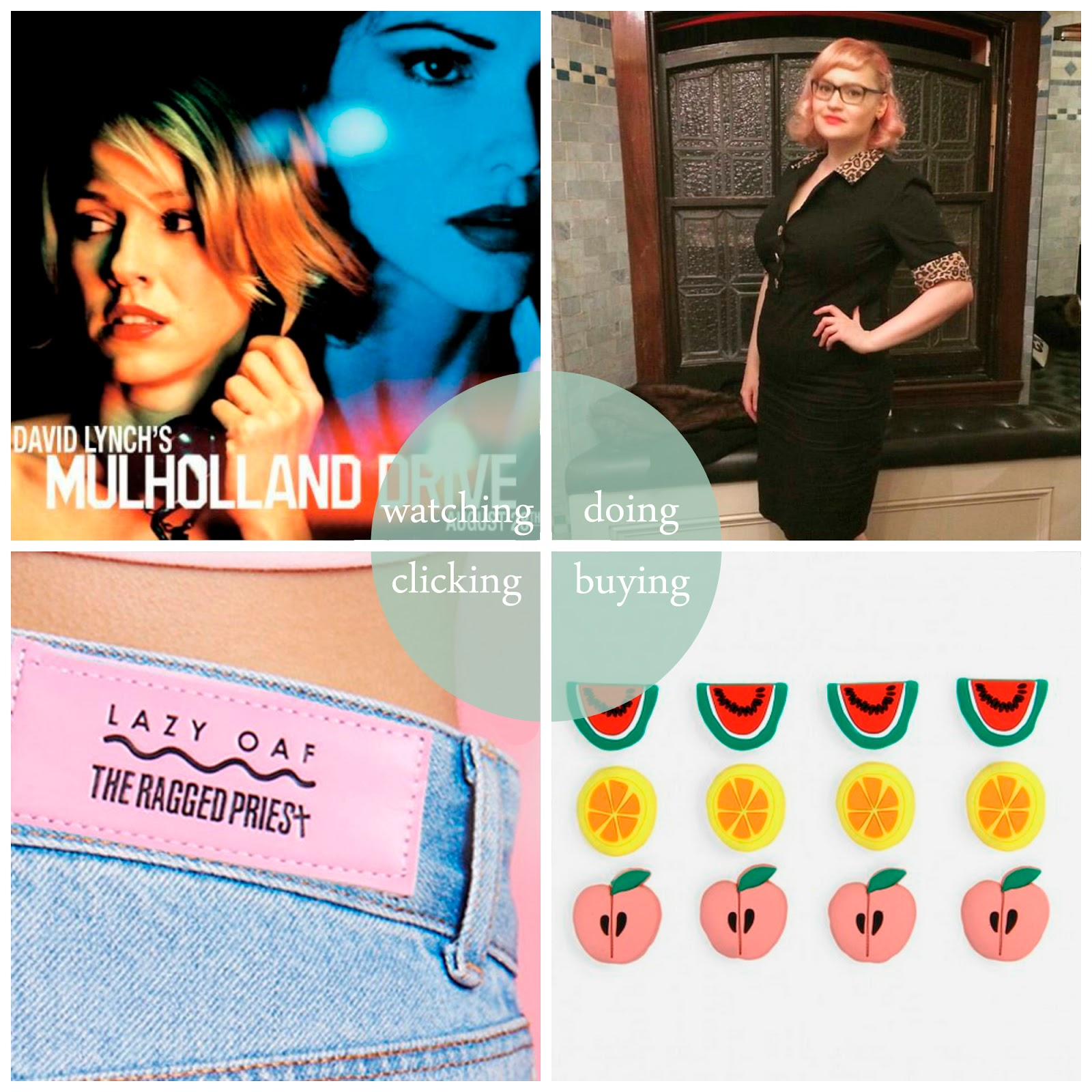 The Burlesque Ball Edinburgh, VOodoo Rooms Edinburgh, Paperchase accessories, ways to accessorise your work office, Lazy Oaf x Ragged Priest, Lazy Oaf x Casper, Mulholland Drive, #girlgangweekender