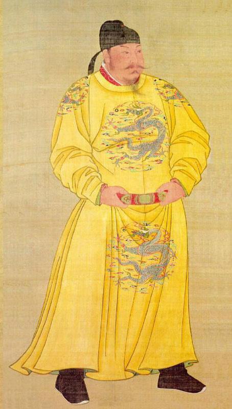 ภาพวาดถังไท่จง จาก National Palace Museum, Taipei