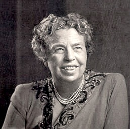 Eleanor Roosevelt was a prominent author, speaker and politician born in  New York on October 11, 1884. Co-founder of Freedom House, she was a  firm advocate of Civil Rights, and an ardent supporter of the formation  of the United Nations.  Initially being tutored privately at home, Eleanor joined the  Allenswood Academy in London at the age of 15. She married Franklin  Roosevelt on March 17, 1905 at the age of 20.