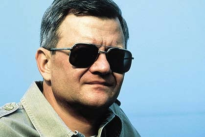 Tom Clancy, author famous for books like