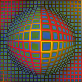 Vasarely Paintings