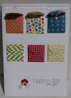 Small Envelope Punch Happy Day Card