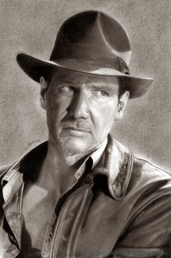 26-Indiana-Jones-Ambro-Jordi-AmBr0-How-To-Draw-Hyper-Realistic-Drawings-www-designstack-co
