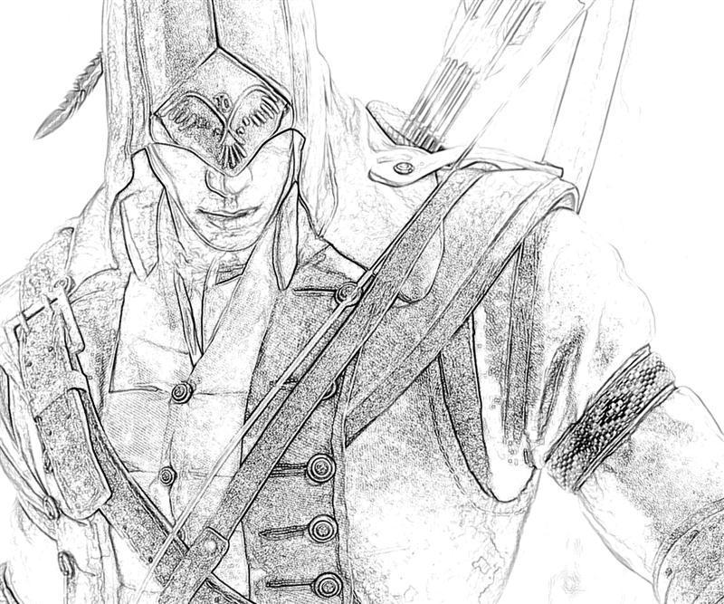 assassin s creed coloring pages - assassins creed 2 weapon yumiko fujiwara