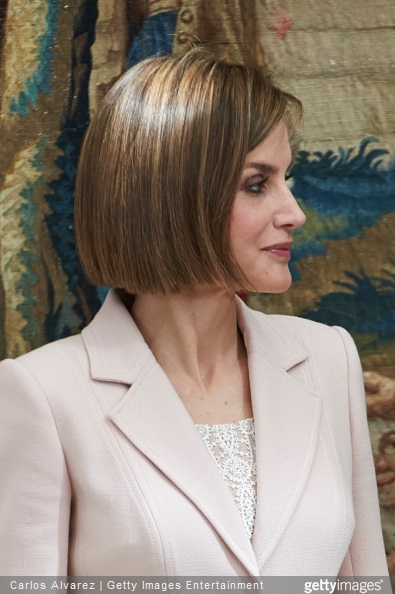 Queen Letizia of Spain attends the 'Royal Trust Disability Reina Sofia 2014 Awards' at the El Pardo Palace