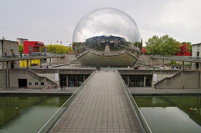 Image of Géode in Cité des Sciences et de l'Industrie