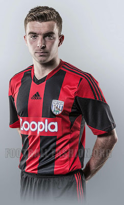 Jersey Home Away West Brom Albion Adidas 2013-2014 | Bola Dunia