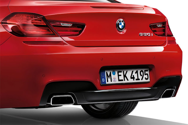 Back picture of BMW 6